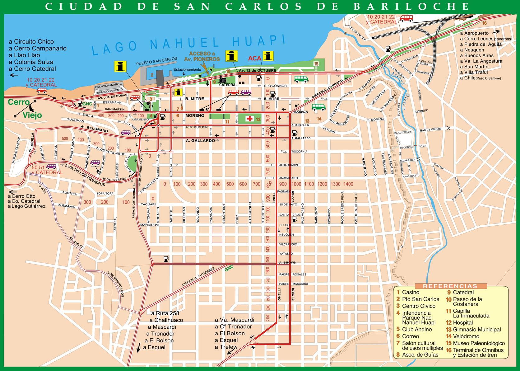 Circuito Grande Bariloche : El calafate bariloche self drive tour